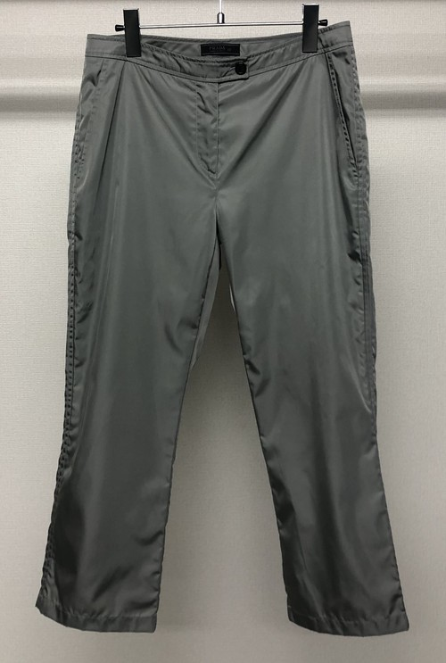 SS1998 PRADA NYLON CROPPED TROUSERS