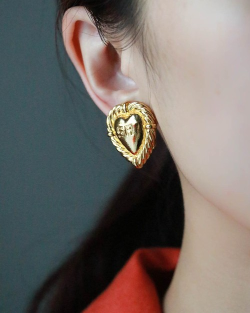 Sonia Rykiel heart earrings