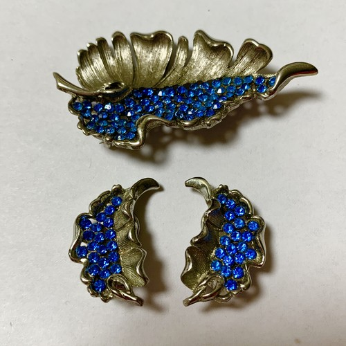 Vintage BSK  Earrings & Brooch