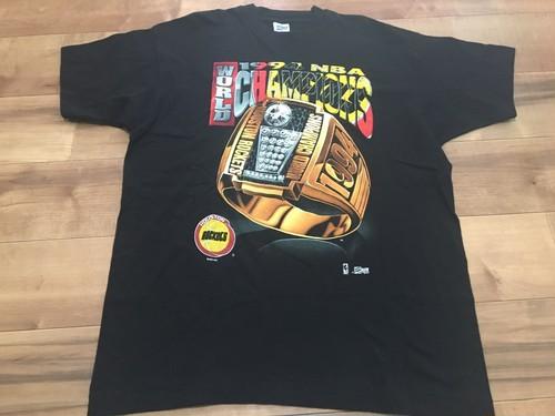 ビンテージ 1994 NBA ヒューストンロケッツ Tシャツ シングルステッチ 90s OLD