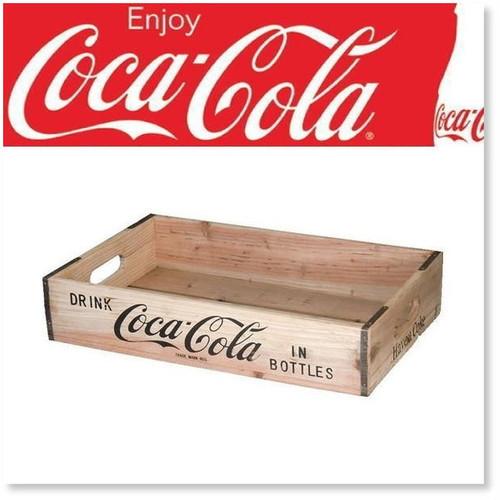 送料無料【コカコーラ】ウッドクレート 【cocacola】木箱