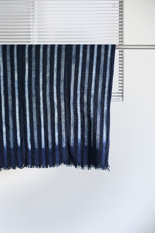 <SOLD OUT>African Vintage - Indigo Stole