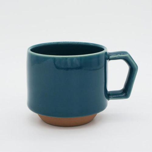 CHIPS stack mug. SOLID COLOR d.green
