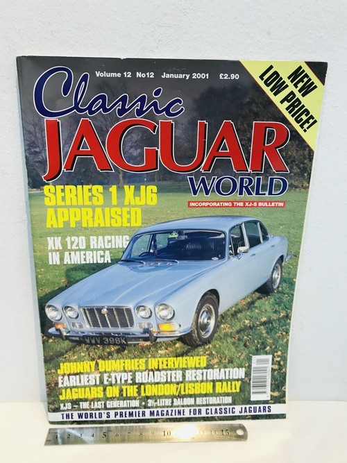 洋雑誌 CLASSIC JAGUAR WORLD 2001年