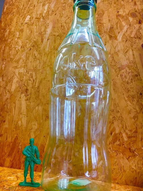 COCA COLA コカコーラ コインバンク 瓶コーラ US雑貨 big size 貯金箱
