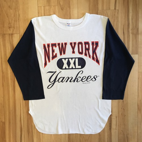 80's Champion NEW YORK YANKEES Baseball Tee
