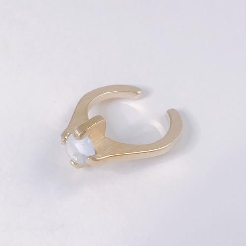 ゴールドリング -M- 水晶