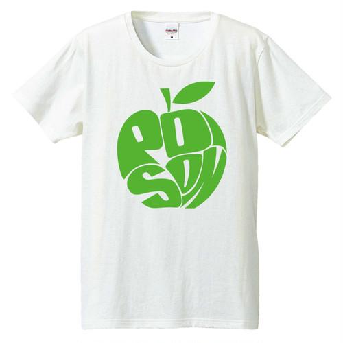 [Tシャツ] 毒リンゴ green