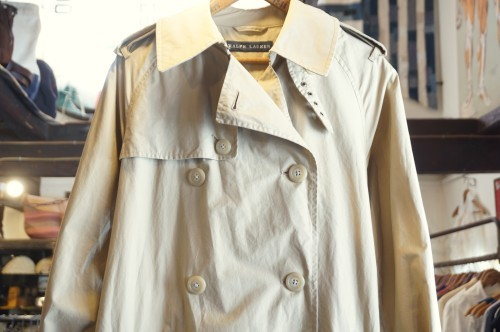Ralph Lauren light weight trench Coat