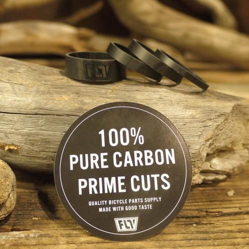 FLV  100% PURE CARBON PRIME CUTS HEAD SPACER SET(H3.H5x2.H10)