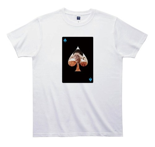 《浅見千代子Tシャツ 》TA008/ スペードのエース
