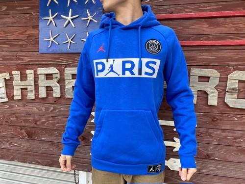 【海外買い付け】AIR JORDAN × PSG パーカー(blue)