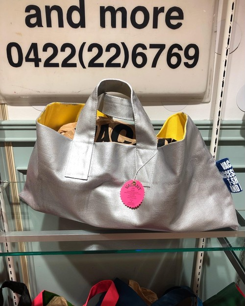 Painted-Tote Silver
