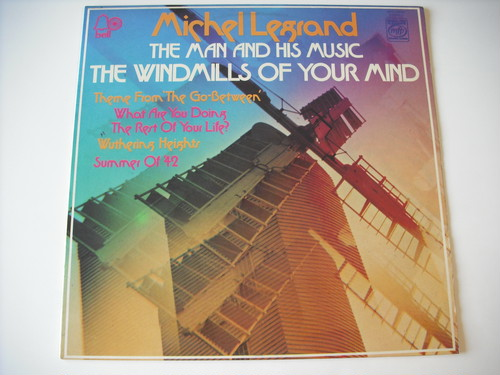 【LP】MICHEL LEGRAND / THE WINDMILLS OF YOUR MIND