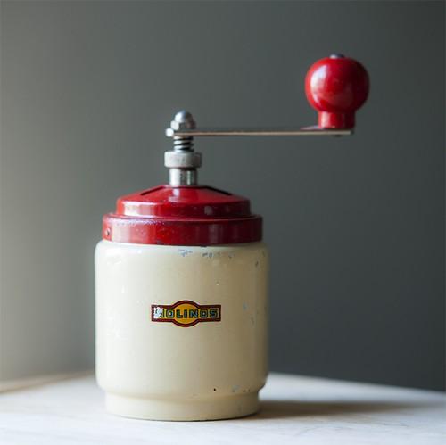 50s MOLINOS ビンテージ コーヒーミル (Italy)