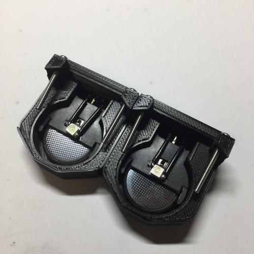 受注生産品【サンタニコ様】フルボトル専用発光台座 Xセット
