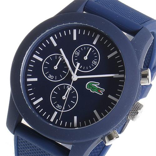 ラコステ LACOSTE クロノ クオーツ メンズ 腕時計 2010824 ネイビー/ホワイト ネイビー