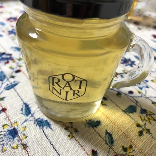 【セレクト】国産純粋非加熱 プレミアム蜂蜜 みかん 140g