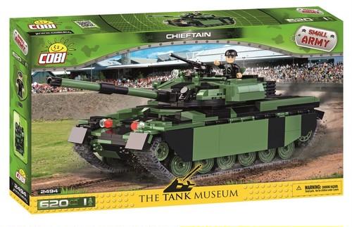 COBI #2494 チーフテン主力戦車 (Chieftain)