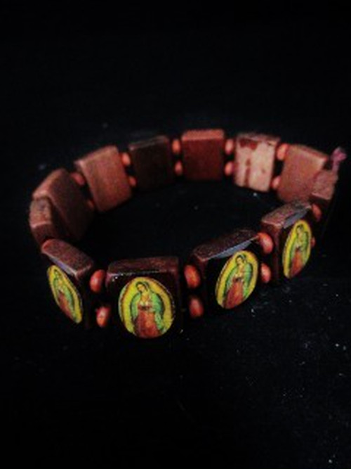 メキシカン/ グアダルーペ/ ブレスレット/ 木製