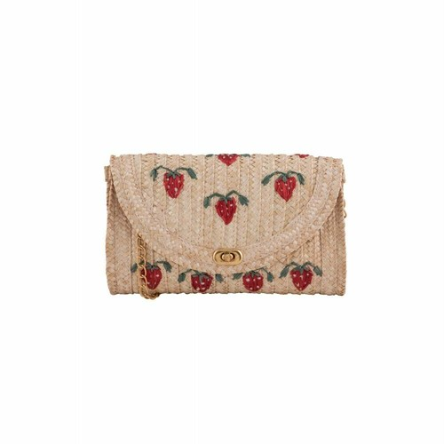 Collectif コレクティフ Alicia Straw Clutch