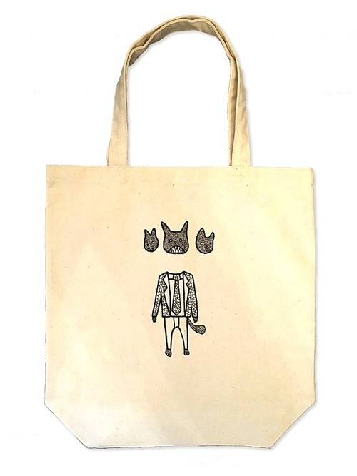Hand Drawing Tote Bag / Cerberus
