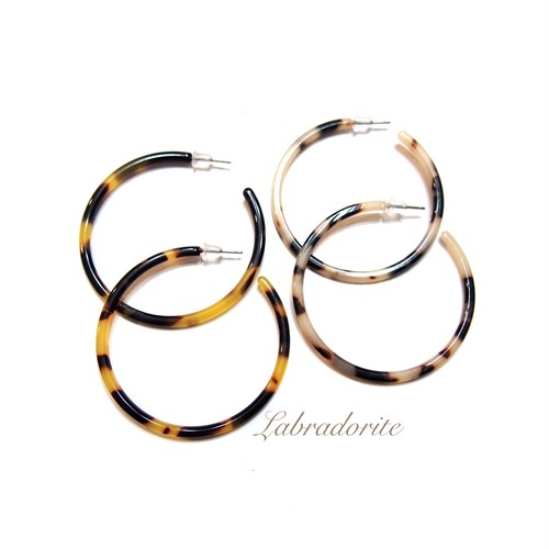 Tortoise shell Circle –Big-