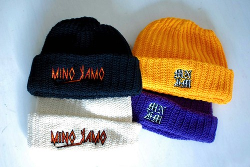 【UNISEX】 MNKM double A-side beanie