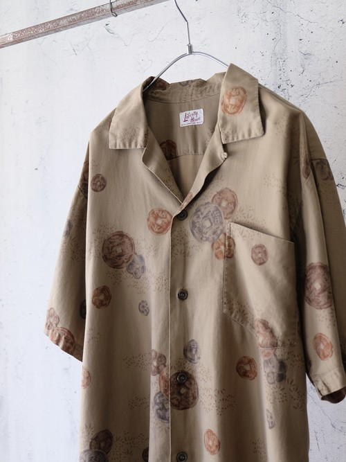 old coin pattern shirt