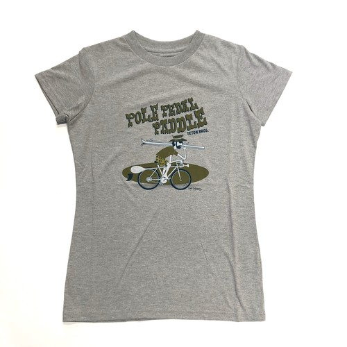Teton Bros. / Pole Pedal Paddle Ⅱ Tee Women's《Gray》