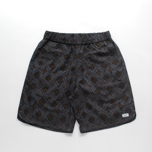 Short pants every day UBUD / HAND DYE BATIK GRAY