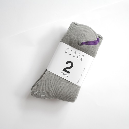 THE NORTH FACE PURPLE LABEL Pack Field Socks 2P
