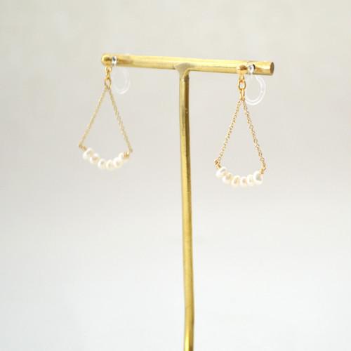 Pearl Chain No hole Pierce