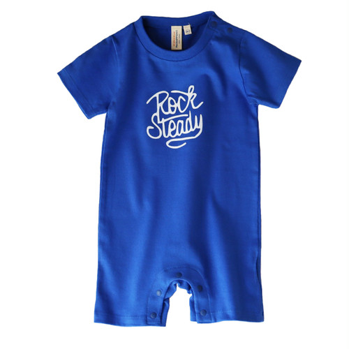 hntbk rompers rock steady(ROYAL BLUE)