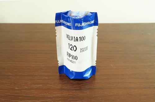 【カラーリバーサルフィルム ブローニー 120】FUJIFILM(フジフィルム)  VELVIA100