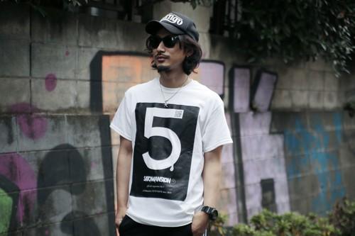 5番Tシャツ2019 白