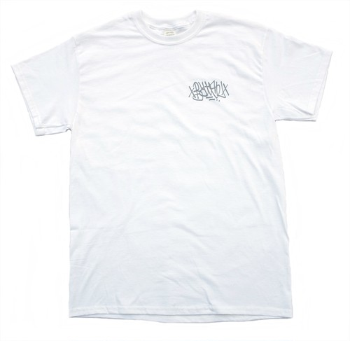BATSU ORIGINAL tagging tee white
