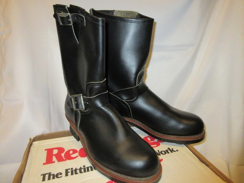 90's RED WING 2268 Engineer Boots PT91 レッド ウイング エンジニアブーツ 8D アメリカ製 Dead Stock