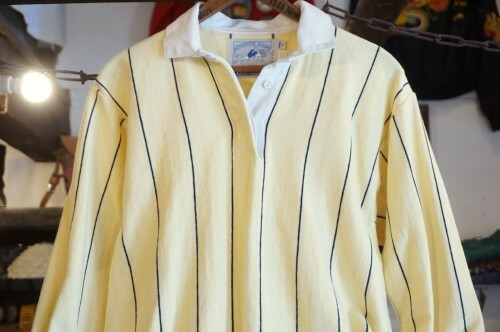 80's LANDS' END rugby Shirt