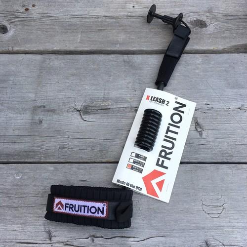 FRUTION NEW K-リーシュ2 ボディボード肘用 (ブラック)