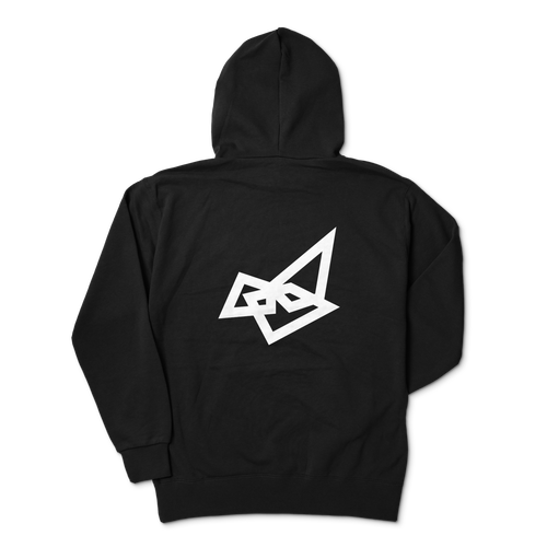 Sapsan・Backlogo Black hoodie Parker 4size