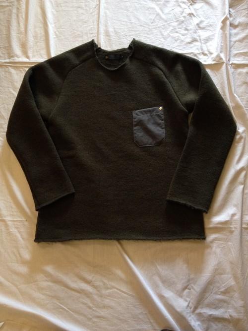 Low Gauge Wool Airy Knit(Re made in tokyo Japan)