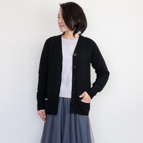 カーディガン・ポケット付き(7G)(サイズ:46)