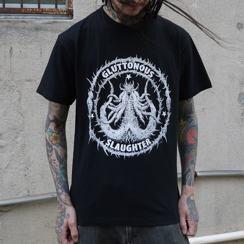 Secreting Coffin T-shirt Black