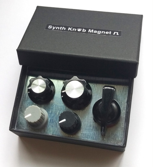 SKM モノトーン アソートセット Synth Knob Magnet | シンセサイザッカー