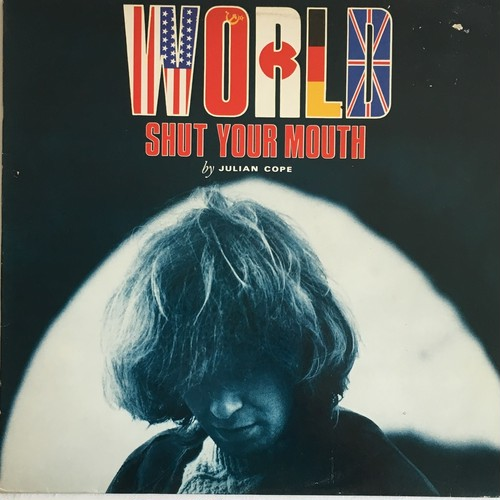 【LP・英盤】Julian Cope  ‎/  World Shut Your Mouth