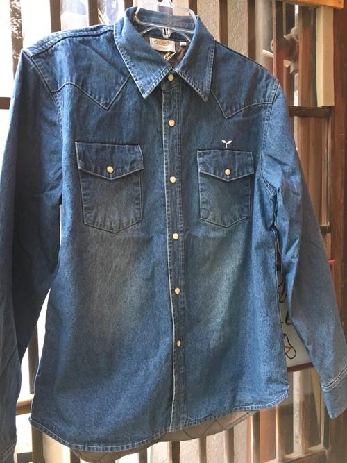 SPRAWLS*Washed Denim Shirts(Inner Quilting)
