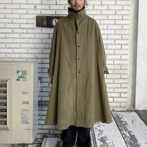 VINTAGE FRENCH MILITARY Mー38 MOTORCYCLE COAT