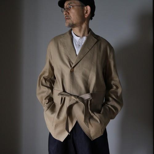 ASEEDONCLOUD アシードンクラウド Sakurashi Jacket beige no.211202