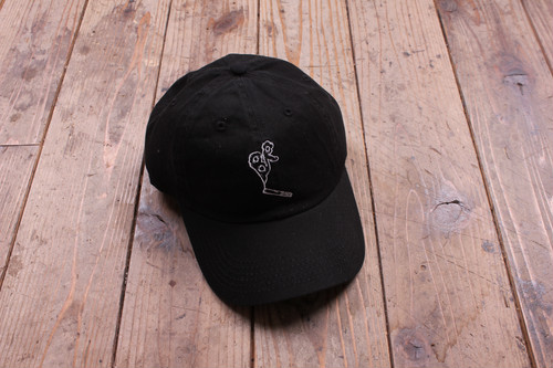 BR TOBACO CAP BLACK/WHITE